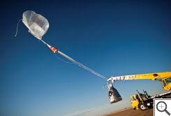 Startovací zařízení balónu