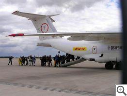 AN-72 nástup