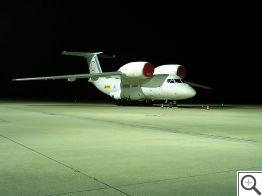 AN-72 v noci